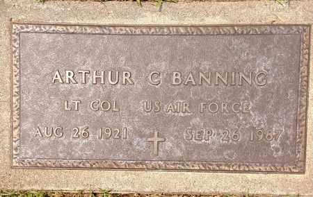 ARTHUR, BANNING - Sarpy County, Nebraska | BANNING ARTHUR - Nebraska Gravestone Photos