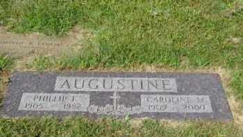 AUGUSTINE, PHILLIP F. - Sarpy County, Nebraska | PHILLIP F. AUGUSTINE - Nebraska Gravestone Photos