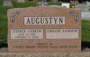 AUGUSTYN, LORRAINE K. - Sarpy County, Nebraska | LORRAINE K. AUGUSTYN - Nebraska Gravestone Photos