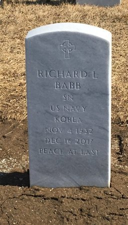 BABB, RICHARD - Sarpy County, Nebraska | RICHARD BABB - Nebraska Gravestone Photos
