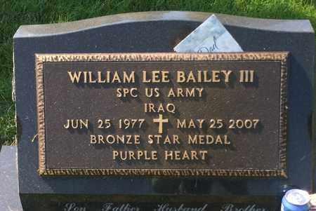 BAILEY, WILLIAM III - Sarpy County, Nebraska | WILLIAM III BAILEY - Nebraska Gravestone Photos
