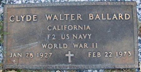 BALLARD, CYLDE WALTER - Sarpy County, Nebraska   CYLDE WALTER BALLARD - Nebraska Gravestone Photos