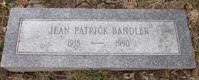 BANDLER, JEAN - Sarpy County, Nebraska | JEAN BANDLER - Nebraska Gravestone Photos