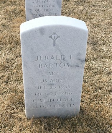 BARTOS, JERALD - Sarpy County, Nebraska | JERALD BARTOS - Nebraska Gravestone Photos