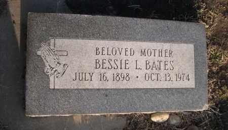 BATES, BESSIE L. - Sarpy County, Nebraska | BESSIE L. BATES - Nebraska Gravestone Photos