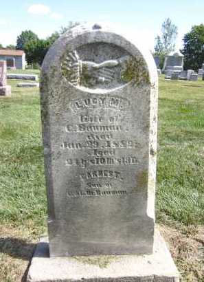 BAUMAN, LUCY M. - Sarpy County, Nebraska | LUCY M. BAUMAN - Nebraska Gravestone Photos