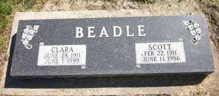 BEADLE, SCOTT - Sarpy County, Nebraska   SCOTT BEADLE - Nebraska Gravestone Photos