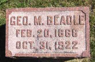 BEADLE, GEORGE M. - Sarpy County, Nebraska   GEORGE M. BEADLE - Nebraska Gravestone Photos