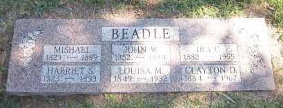BEADLE, HARRIET S. - Sarpy County, Nebraska | HARRIET S. BEADLE - Nebraska Gravestone Photos
