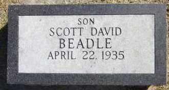 BEADLE, SCOTT DAVID - Sarpy County, Nebraska | SCOTT DAVID BEADLE - Nebraska Gravestone Photos