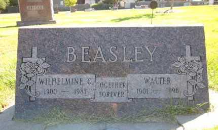 BEASLEY, WILHELMINE C. - Sarpy County, Nebraska | WILHELMINE C. BEASLEY - Nebraska Gravestone Photos