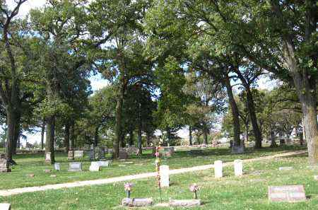 *BELLEVUE CEMETERY, VIEW OF - Sarpy County, Nebraska   VIEW OF *BELLEVUE CEMETERY - Nebraska Gravestone Photos