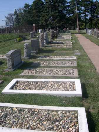 *BETH HAMEDROSH HAGADOL CEMETE, VIEW OF - Sarpy County, Nebraska | VIEW OF *BETH HAMEDROSH HAGADOL CEMETE - Nebraska Gravestone Photos