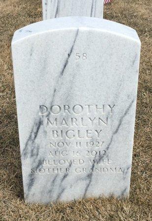 BIGLEY, DOROTHY - Sarpy County, Nebraska   DOROTHY BIGLEY - Nebraska Gravestone Photos