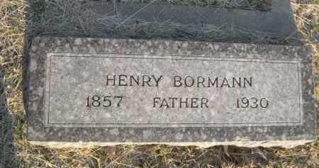 BORMANN, HENRY - Sarpy County, Nebraska | HENRY BORMANN - Nebraska Gravestone Photos
