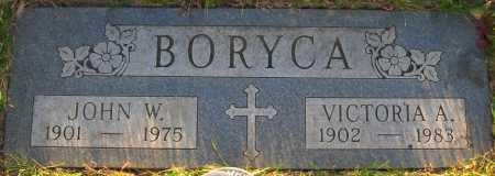 SMOLLEN BORYCA, VICTORIA A. - Sarpy County, Nebraska | VICTORIA A. SMOLLEN BORYCA - Nebraska Gravestone Photos