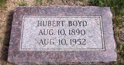 BOYD, HUBERT - Sarpy County, Nebraska | HUBERT BOYD - Nebraska Gravestone Photos