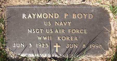 BOYD, RAYMOND P. - Sarpy County, Nebraska | RAYMOND P. BOYD - Nebraska Gravestone Photos