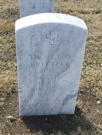 BRITTELL, DEWEY - Sarpy County, Nebraska | DEWEY BRITTELL - Nebraska Gravestone Photos