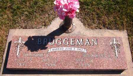 BRUGGEMAN, DIANNE L. - Sarpy County, Nebraska   DIANNE L. BRUGGEMAN - Nebraska Gravestone Photos