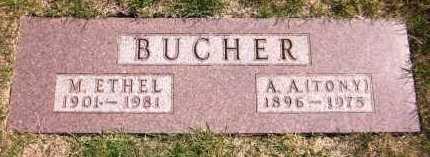 BUCHER, M. ETHEL - Sarpy County, Nebraska | M. ETHEL BUCHER - Nebraska Gravestone Photos