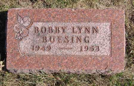 BUESING, BOBBY LYNN - Sarpy County, Nebraska | BOBBY LYNN BUESING - Nebraska Gravestone Photos