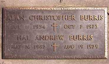 BURRIS, ALAN CHRISTOPHER - Sarpy County, Nebraska | ALAN CHRISTOPHER BURRIS - Nebraska Gravestone Photos