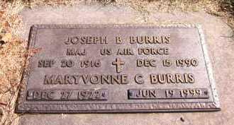 BURRIS, JOSEPH B. - Sarpy County, Nebraska | JOSEPH B. BURRIS - Nebraska Gravestone Photos