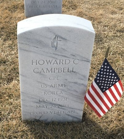CAMPBELL, HOWARD - Sarpy County, Nebraska | HOWARD CAMPBELL - Nebraska Gravestone Photos