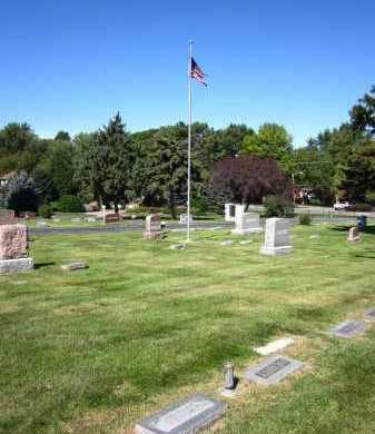 *CEDAR DALE, VIEW OF - Sarpy County, Nebraska | VIEW OF *CEDAR DALE - Nebraska Gravestone Photos