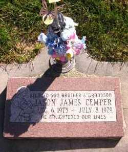 CEMPER, JASON JAMES - Sarpy County, Nebraska | JASON JAMES CEMPER - Nebraska Gravestone Photos