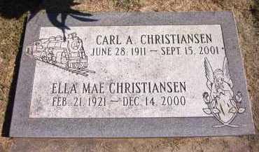 CHRISTIANSEN, ELLA MAE - Sarpy County, Nebraska | ELLA MAE CHRISTIANSEN - Nebraska Gravestone Photos