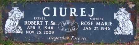 CIUREJ  SR., ROBERT T - Sarpy County, Nebraska | ROBERT T CIUREJ  SR. - Nebraska Gravestone Photos