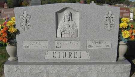 CIUREJ, REV. RICHARD S. - Sarpy County, Nebraska | REV. RICHARD S. CIUREJ - Nebraska Gravestone Photos
