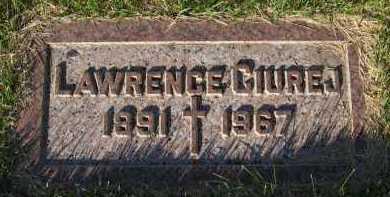 CIUREJ, LAWRENCE - Sarpy County, Nebraska | LAWRENCE CIUREJ - Nebraska Gravestone Photos