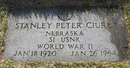 CIUREJ, STANLEY PETER - Sarpy County, Nebraska | STANLEY PETER CIUREJ - Nebraska Gravestone Photos