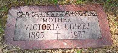 CIUREJ, VICTORIA - Sarpy County, Nebraska   VICTORIA CIUREJ - Nebraska Gravestone Photos