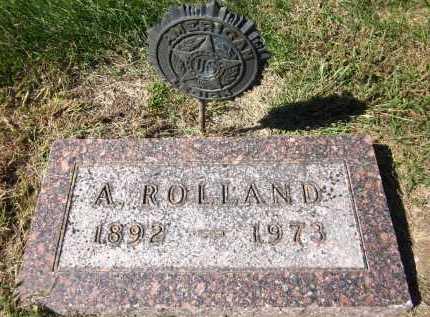 CLARK, A. ROLLAND - Sarpy County, Nebraska   A. ROLLAND CLARK - Nebraska Gravestone Photos