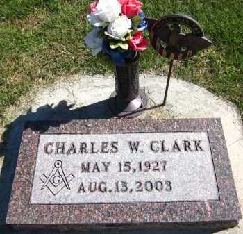 CLARK, CHARLES W. - Sarpy County, Nebraska | CHARLES W. CLARK - Nebraska Gravestone Photos