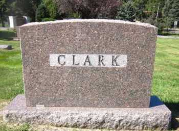CLARK, FAMILY - Sarpy County, Nebraska | FAMILY CLARK - Nebraska Gravestone Photos
