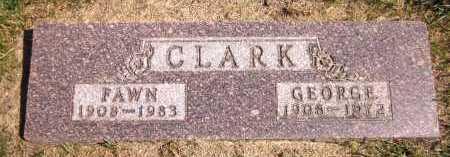 CLARK, FAWN - Sarpy County, Nebraska | FAWN CLARK - Nebraska Gravestone Photos