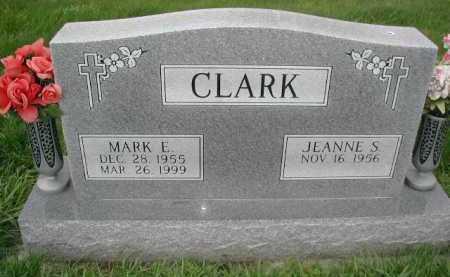 CLARK, MARK E - Sarpy County, Nebraska | MARK E CLARK - Nebraska Gravestone Photos