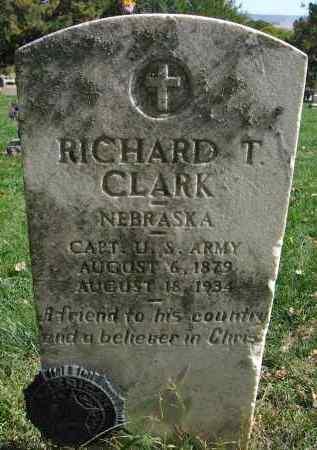 CLARK, RICHARD T. - Sarpy County, Nebraska | RICHARD T. CLARK - Nebraska Gravestone Photos