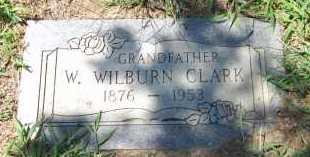 CLARK, W. WILBURN - Sarpy County, Nebraska | W. WILBURN CLARK - Nebraska Gravestone Photos