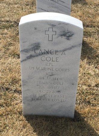 COLE, LANCE - Sarpy County, Nebraska | LANCE COLE - Nebraska Gravestone Photos