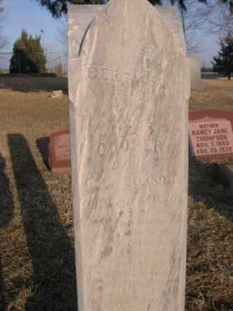 COOPER, BETTY RAE - Sarpy County, Nebraska | BETTY RAE COOPER - Nebraska Gravestone Photos