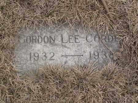 CORDES, GORDON LEE - Sarpy County, Nebraska | GORDON LEE CORDES - Nebraska Gravestone Photos