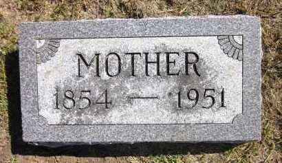 CRITCHFIELD, MOTHER - Sarpy County, Nebraska | MOTHER CRITCHFIELD - Nebraska Gravestone Photos
