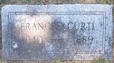 CURTI, FRANCES - Sarpy County, Nebraska | FRANCES CURTI - Nebraska Gravestone Photos