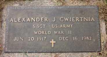 CWIERTNIA, ALEXANDER J. - Sarpy County, Nebraska   ALEXANDER J. CWIERTNIA - Nebraska Gravestone Photos